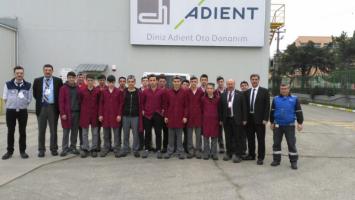 DİNİZ ADİENT Oto Donanım Fabrika Ziyareti